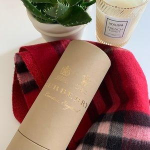 Authentic Burberry Scarf- cashmere